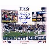 Tennessee Titans Autographed