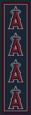 "Los Angeles Angels 2'1"" x 7'8"" Premium Runner Rug"