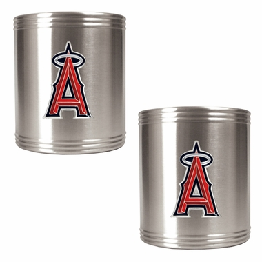 Los Angeles Angels 2 Can Holder Set