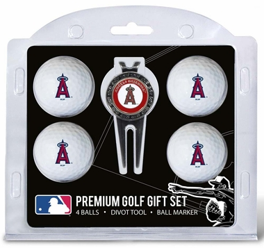 Los Angeles Angels 4 Ball and Divot Tool Set