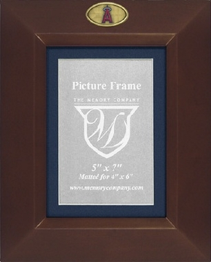Los Angeles Angels BROWN Portrait Picture Frame