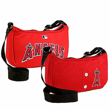 Los Angeles Angels Jersey Material Purse
