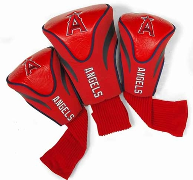 Los Angeles Angels Set of Three Contour Headcovers