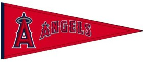 Los Angeles Angels Wool Pennant