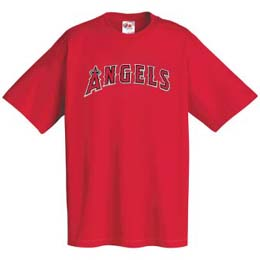 Los Angeles Angels Wordmark T-Shirt - XX-Large