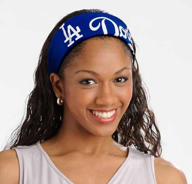 Los Angeles Dodgers FanBand Hair Band