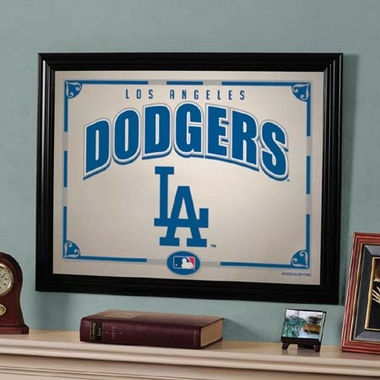 Los Angeles Dodgers Framed Mirror