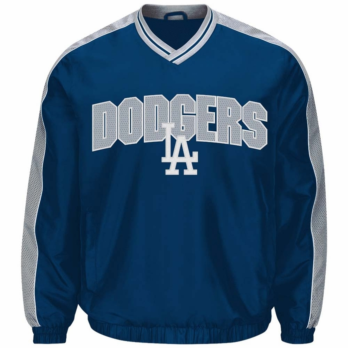 Los angeles dodgers g iii switch pullover embroidered