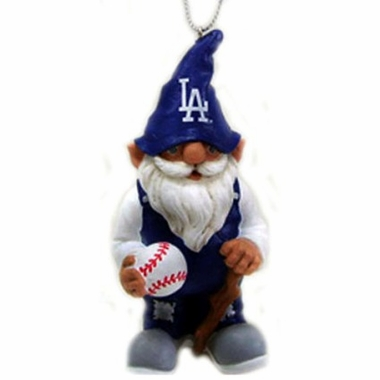 Los Angeles Dodgers Gnome Christmas Ornament