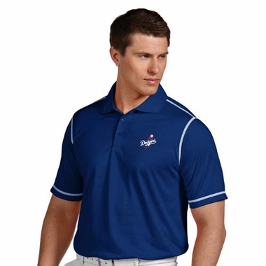 Los Angeles Dodgers Mens Icon Polo (Color: Blue)