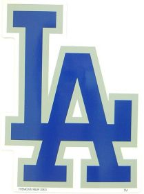 "Los Angeles Dodgers 12"" Car Magnet"