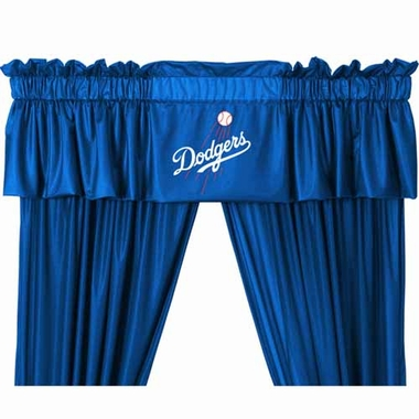 Los Angeles Dodgers Logo Jersey Material  Valence