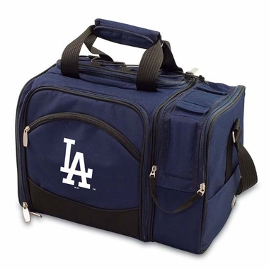 Los Angeles Dodgers Malibu Picnic Cooler (Navy)