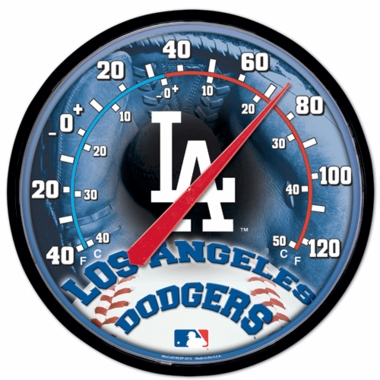 Los Angeles Dodgers Round Wall Thermometer