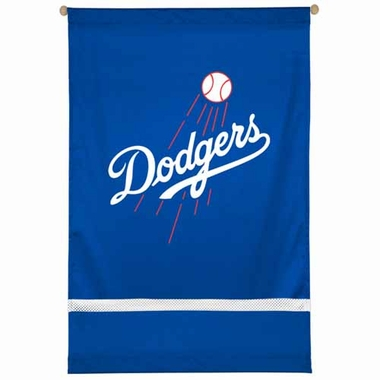 Los Angeles Dodgers SIDELINES Jersey Material Wallhanging