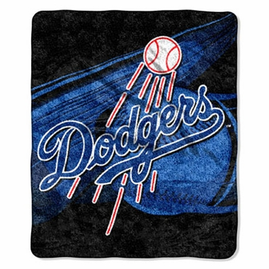 Los Angeles Dodgers Super-Soft Sherpa Blanket
