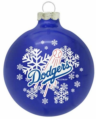 Los Angeles Dodgers Traditional Ornament