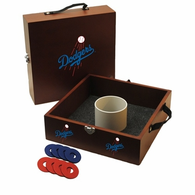 Los Angeles Dodgers Washer Toss Game