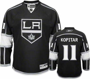 Los Angeles Kings Anze Kopitar Team Color Premier Jersey