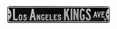 Los Angeles Kings Ave Street Sign