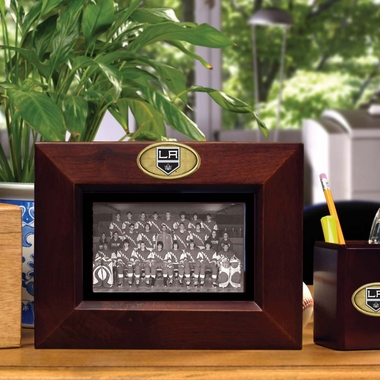 Los Angeles Kings BROWN Landscape Picture Frame
