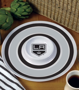 Los Angeles Kings Plastic Chip and Dip Plate