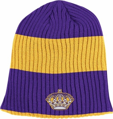 Los Angeles Kings Retro Reversible Cuffless Knit Hat