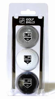 Los Angeles Kings Set of 3 Multicolor Golf Balls