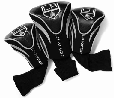 Los Angeles Kings Set of Three Contour Headcovers
