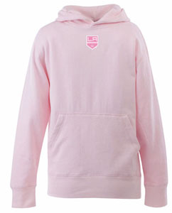 Los Angeles Kings YOUTH Girls Signature Hooded Sweatshirt (Color: Pink) - Large