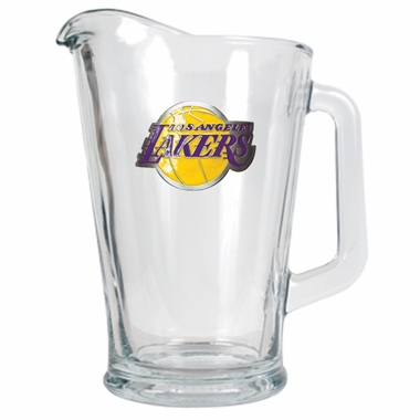 Los Angeles Lakers 60 oz Glass Pitcher