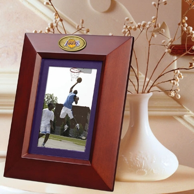 Los Angeles Lakers BROWN Portrait Picture Frame