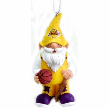 Los Angeles Lakers Gnome Christmas Ornament