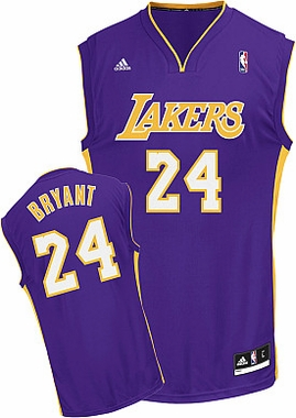 Los Angeles Lakers Kobe Bryant Replica YOUTH Jersey