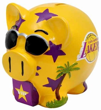 Los Angeles Lakers Piggy Bank - Thematic Large