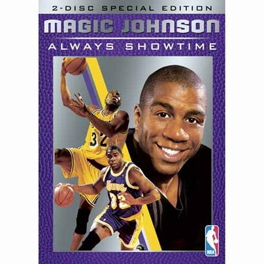Los Angeles Lakers Magic Johnson: Always Showtime DVD
