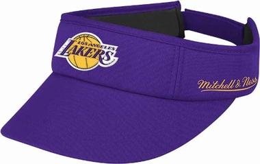 Los Angeles Lakers Mitchell & Ness Throwback Adjustable Summer Visor