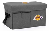 Los Angeles Lakers Ottoman Cooler & Seat (Grey)