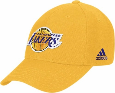 Los Angeles Lakers Pro Adjustable Gold Hat