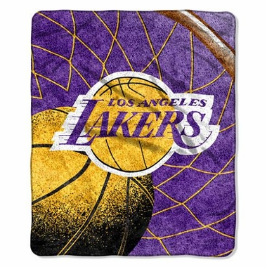 Los Angeles Lakers Super-Soft Sherpa Blanket
