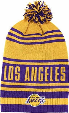 Los Angeles Lakers Throwback Pom Hat