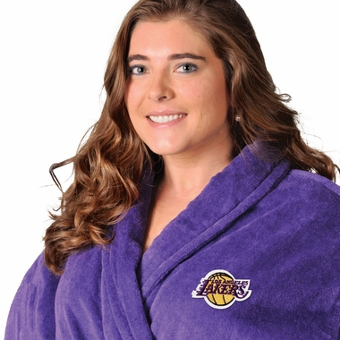 Los Angeles Lakers UNISEX Bath Robe (Alternate Color)