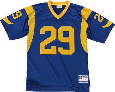 Los Angeles Rams Eric Dickerson NFL Mitchell & Ness Premier Jersey - Blue