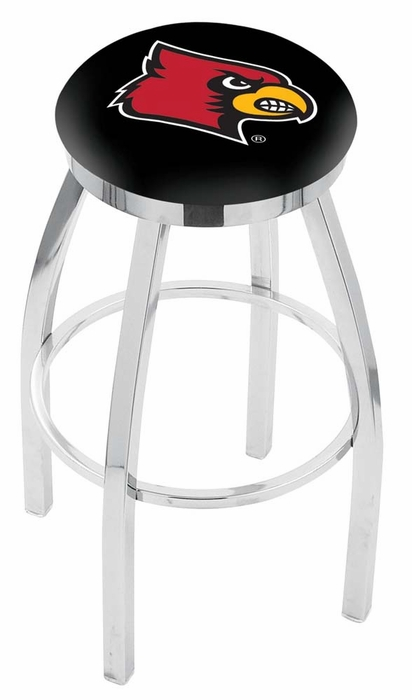 Louisville 25 Inch L8c2c Chrome Bar Stool