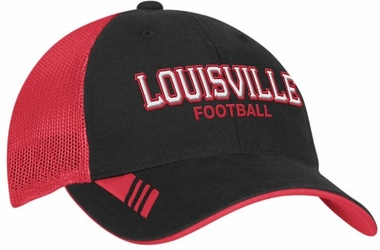 Louisville Adidas Player Mesh Back Slope Hat