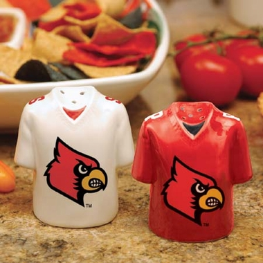 Louisville Ceramic Jersey Salt and Pepper Shakers