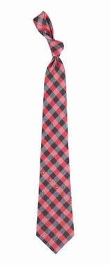 Louisville Check Poly Necktie