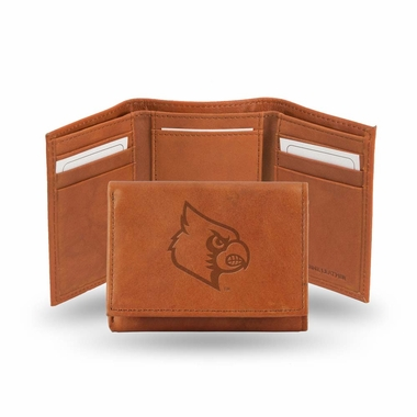 Louisville Embossed Leather Trifold Wallet