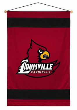 Louisville SIDELINES Jersey Material Wallhanging