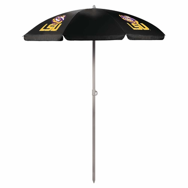 LSU Beach Umbrella (Black)